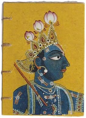 De Kulture Vintage Krishna Artwork Journal