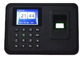 Dehmy Electronic Standard Size USB Biometric Fingerprint Attendance Machine (Report Through Excel or Software)