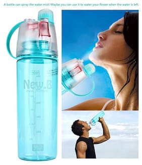 Design New B Portable Mist Spray Water Bottle for Cycling Gym Drinking Bottle 600 ml Sipper