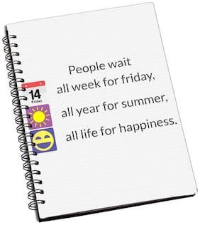 Designer Laminated Notebook -539