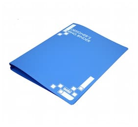 Designers Ring Binder 4D-Ring (Pack Of 1) - Blue