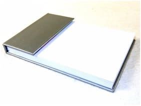 Desktop Jotter Pad w/Sticky Flag Notes, Choice of Colors, Gift Box ~ #PL-4272