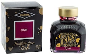 Diamine Fountain Pen Ink Syrah 80 ml