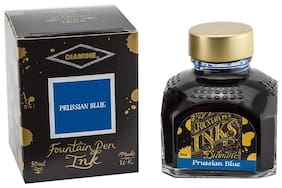Diamine Fountain Pen Ink Prussian Blue 80 ml