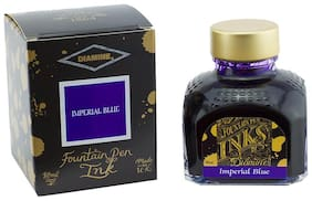 Diamine Fountain Pen Ink Imperial Blue 80 ml