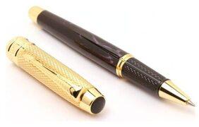 Dikawen 18 Ct Gold Plated Odyssey Marbled Designer Roller Ball Pen