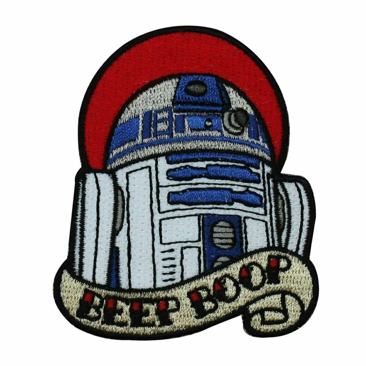 Disney Star Wars Love R2 D2 Beep Boop Patch Officially Licensed Iron On Applique