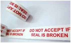 Do Not Accept If Seal Is Broken/BOPP Tape(2x 65 m) Pack of 12