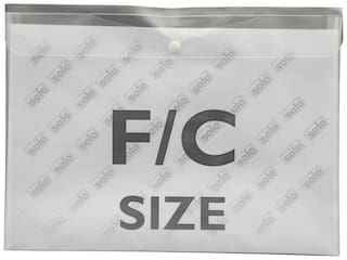 Document Envelope (button;L/scape) (pack Of 10)-white