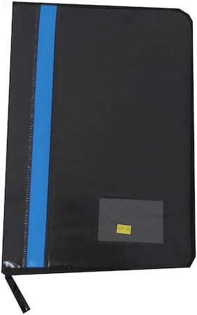 Document Leather Files Portfolio Files, Folder Paper Size - A4 (20 Sleeves)