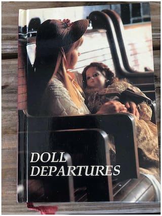 Doll Departures Notebook Phonebook Journal Travel Log Book Planner Vintage New