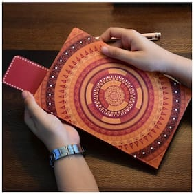 Doodle Chakra Culture Ethnic Notebook, 160 Pages, Size A5 (8.5 X 5.5 inch)