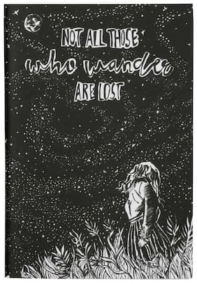 Doodle Dreams Wanderlust Doodle Pin Notebook/Diary (A5|Blank|70 Pages)
