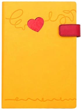 Doodle Heart Beat Notebook Diary, Valentines Day Gifts, Birthday /Anniversary Gifts