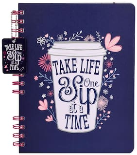 Doodle Morning Glory Notebook
