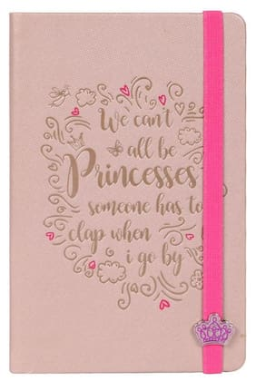 Doodle Peachy Blush Diary Notebook, Size A5, Ruled Pages, 80 Gsm