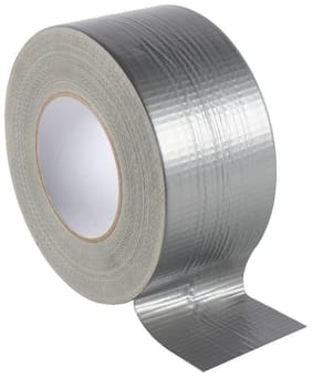 Duct Tape with 1 48mm x 50 Meter Brown Cello Tape Free | Packing Tape Grey Tape
