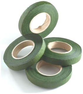 DWeS Green Floral Tape pack of 4 pc