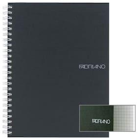 Ecoqua Spiral Notebook 5.8X8.25 Black