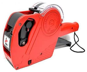 EDDNA Genric Hongsheng MX-5500 Printer Label Gun 8 Digits with Labels (Multicolour;3500) color may be different