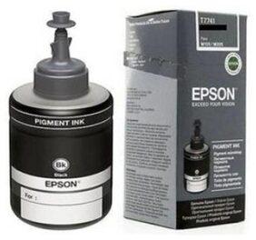 Epson T7741 Black Ink For M100/200 Single Color Ink  (Black)
