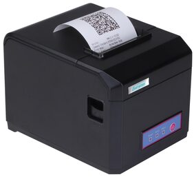 Everycom EC-801 80mm (3 Inches) Direct Thermal Printer - Monochrome - Desktop - Auto Cutter - Receipt Print (EC801UL)