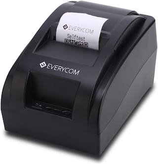 Everycom EC-58 58mm (2 inch) Direct Thermal Printer USB - Monochrome - Desktop - Receipt Print (EC58BLK)
