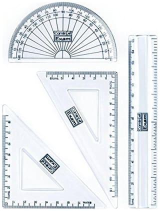 Exam Plastic Parts Geometry Set