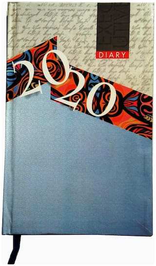 Excel 2020 Executive Style Superior Quality Regular Diary with Excellent Design, (2020 Executive, Multicolor, Office Diary)