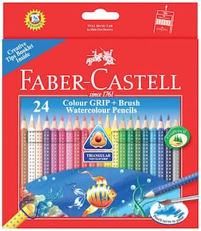 Faber castell Grip Water Colour Pencils (Pack Of 24)