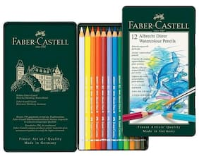 Faber-Castell Albrecht Durer Watercolor 12 Pencil Set Tin