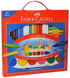 Faber Castell Art Colour Kit 27 Pcs
