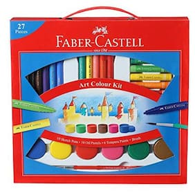 Faber Castell Art Colour Kit 27 pcs     Faber Castell Art Colour Kit 27 pcs