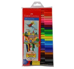 Faber-Castell Connector Pen Set - Pack of 25