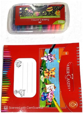 Faber Castell Colouring Activity Kit