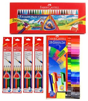 Faber Castell Stationery Combos Set-Pencil  Art Set