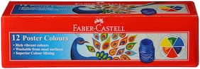 Faber-Castell Poster Colour set of 12 each pack(Pack of 2)