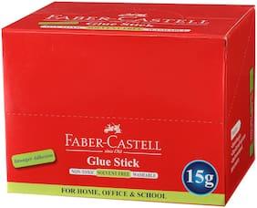 Faber-Castell Glue Sticks 15 Gms (Set of 10)
