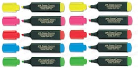 Faber-Castell Textliner Classic (Highlighters) 10 pcs