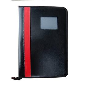 Faux Leatherite Document Portfolio Resume Holder/File/Folder With Zipper