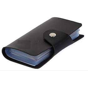 Card holders buy leather visiting wallet atm business card faux leather credit card holder reheart Choice Image