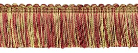 "Flambe 1.25"" Brush Fringe Trim