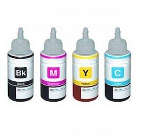 Flowjet epson(compatible) l100/l200/l210/l220 printer ink bottles compatible,set of 4