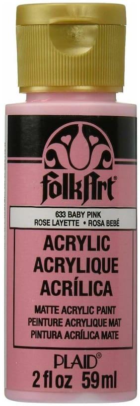 FolkArt Acrylic Paint 2oz 633E  Baby Pink (7A)
