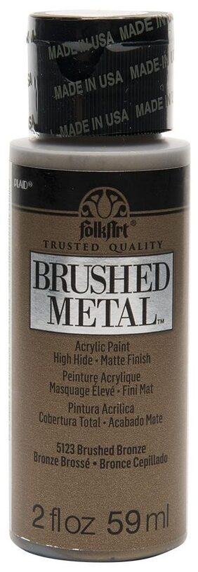FolkArt Brushed Metallics - Bronze 2oz
