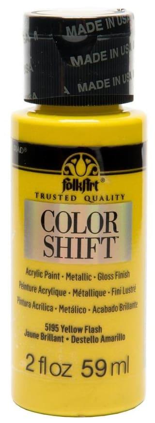 FolkArt Color Shift - Yellow Flash 56.69 g (2 oz)
