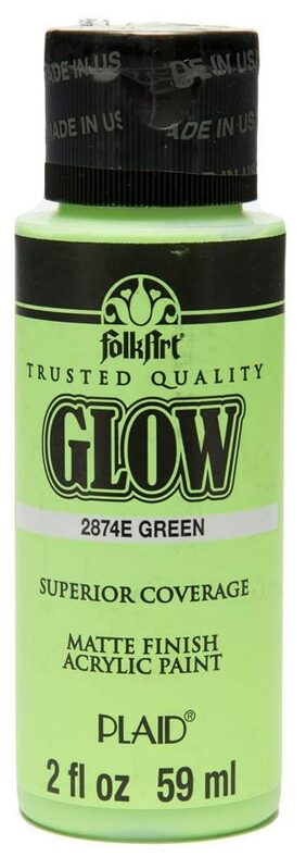 FolkArt Glow - Green 2 oz