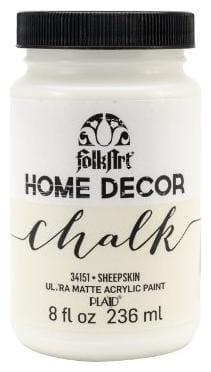 FolkArt Home Decor Chalk Paint Sheep Skin 226.79 g (8 oz)