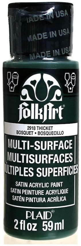 FolkArt Multi-Surface Paint in Assorted Colors Satin Acrylic Bright Paint