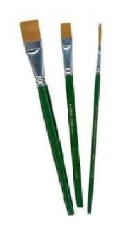 FolkArt - One Stroke Brush Set 3pcs